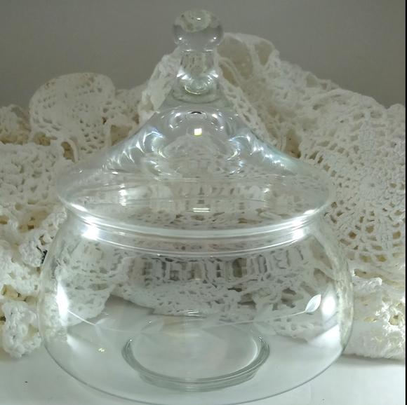 Princess House Apothecary Candy Jar Dish